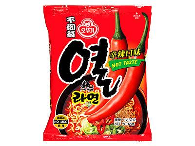 有樂町進口食品 韓國 不倒翁辛辣拉麵-單包~韓國泡麵 8801045521015
