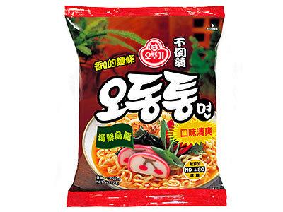 有樂町進口食品 韓國進口 不倒翁海鮮烏龍拉麵泡麵-單包