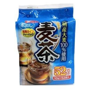 有樂町進口食品 KENSHO 九州大麥麥茶(52包) (10公克 *52袋) J80 4571316651003