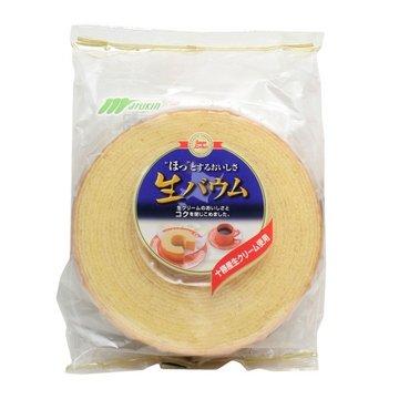 有樂町進口食品  丸金鮮奶年輪蛋糕*(整顆)~選用日本十勝產鮮奶油 4978323900054