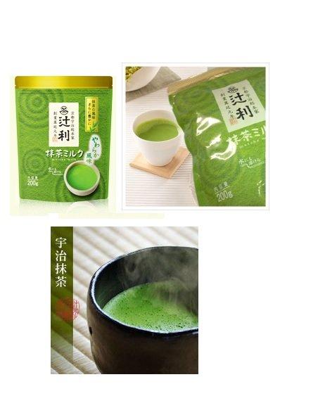 有樂町進口食品 日本 京都限定 辻利抹茶歐蕾超值組 6包*200g  4901305410197