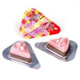有樂町進口食品 丹生堂 迷你草莓蛋糕巧克力 單顆