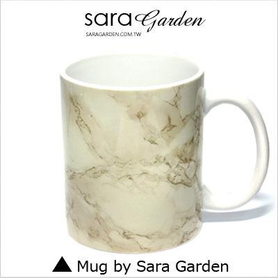 (24H) 客製 質感 彩繪 馬克杯 Mug 高清 大理石 紋路 咖啡杯 陶瓷杯 杯子 Sara Garden 品牌手作【M0320003】