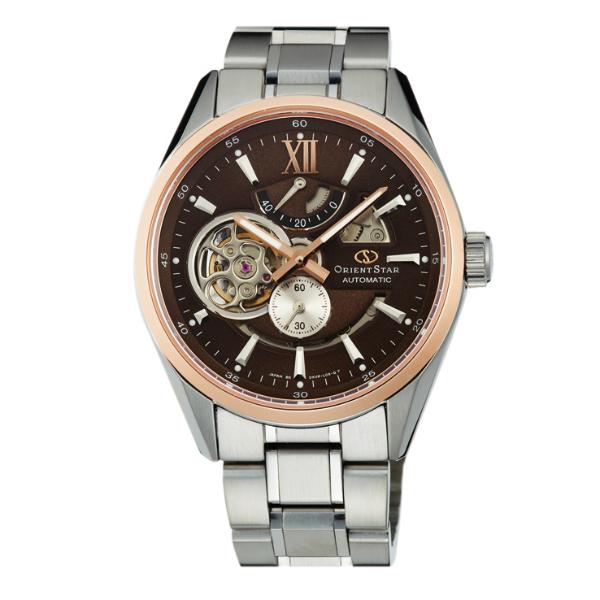 Orient 東方錶(SDK05005T)東方之星65週年限量鏤空機械錶/巧克力面41mm