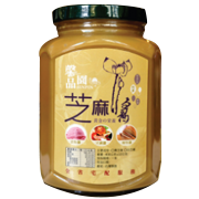 馨品園現磨白芝麻醬(玻璃瓶)( 400g)