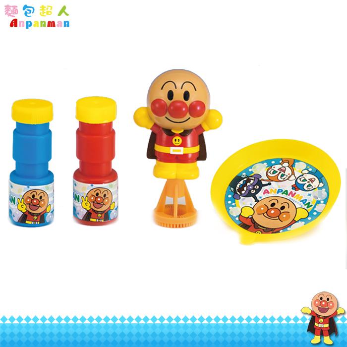 大田倉 日本進口正版 ANPANMAN 麵包超人 吹泡泡 洗澡泡泡玩具 按壓式 附泡泡水 310513