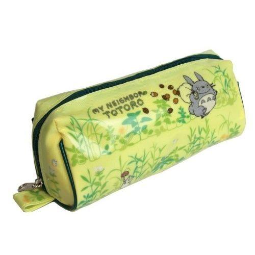 日本直送 吉卜力 宮崎駿 龍貓 totoro 防水花草款 筆袋 化妝包