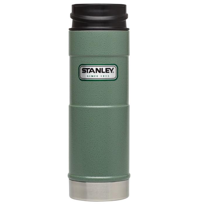 【鄉野情戶外專業】 Stanley  美國   經典單手保溫咖啡杯/304不鏽鋼保溫杯/10-01394 【473ml】