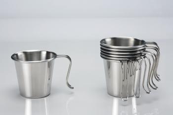 【大山野營】中和 文樑 白金杯 大口杯 304材質 不鏽鋼杯 不鏽鋼碗 ST-2021