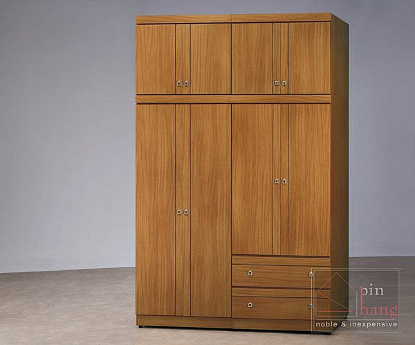 【尚品家具】CF-361 柚木 3x6尺 衣櫥