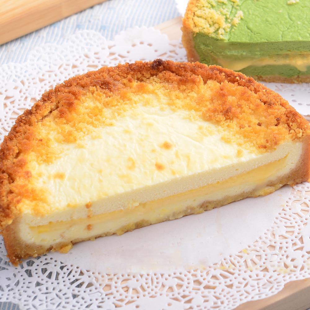 新品上市【艾波索.芝心半熟乳酪蛋糕4吋】起司乳酪控最愛!經典乳酪搭配芝心起士口味鹹甜交錯,經典絕佳的味覺組合