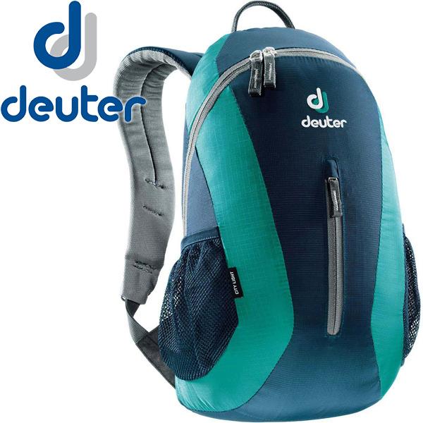 【露營趣】中和 附手電筒 德國 deuter 80154 City Light 16L休閒旅遊背包 登山背包 攻頂包(深藍)