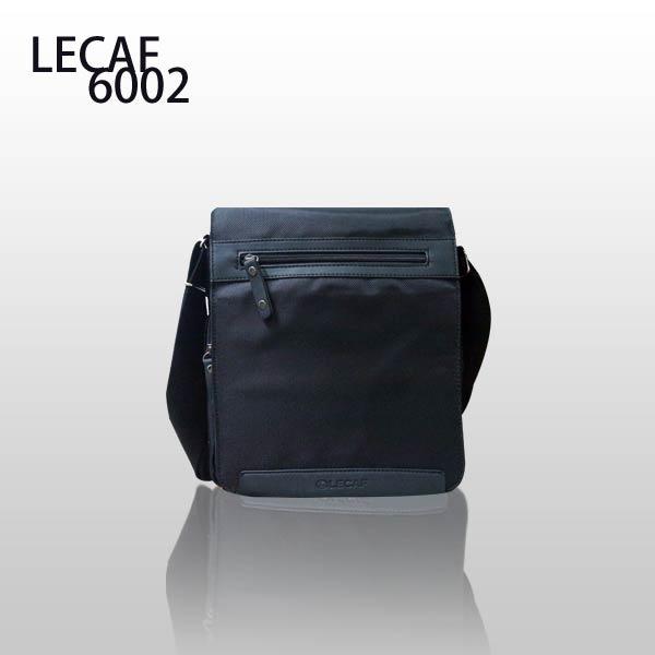 【加賀皮件】LECAF 多收納 公事包 側背包 斜背包 單肩包 6002