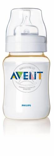 【迷你馬】PHILIPS AVENT PES防脹氣奶瓶(260ml/9oz)-單入 E65A050046