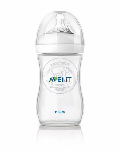 【迷你馬】PHILIPS AVENT 親乳感PP防脹氣奶瓶(260ml/9oz)-單入 E65A100001