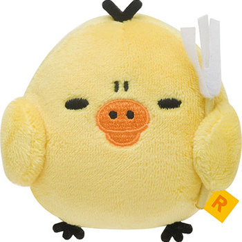 【真愛日本】16082600003生活札記生氣公仔SS-小雞   拉拉熊 Rilakkuma 娃娃 擺飾 收藏