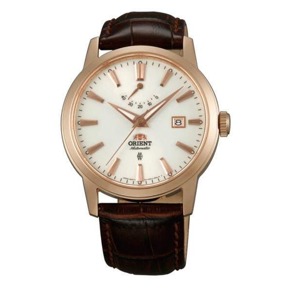 Orient 東方錶(FFD0J001W)玫瑰金動力顯示機械腕錶/白面41mm
