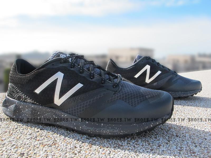 [28cm]《超值6折》Shoestw【MT690LB1】NEW BALANCE 慢跑鞋 登山越野鞋 黑灰 潑墨 男款