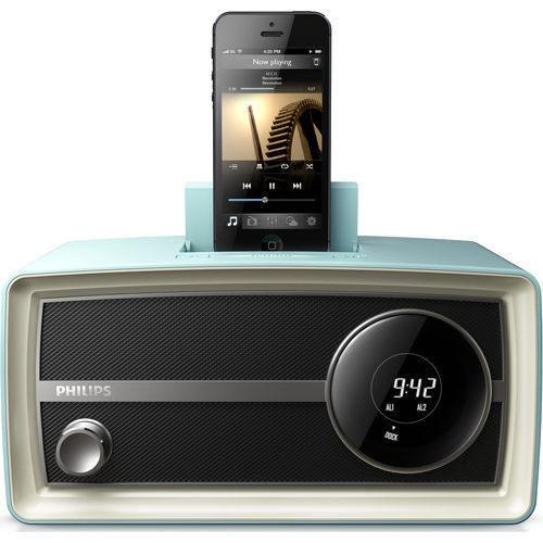 飛利浦PHILIPS復刻時鐘iphone5專用揚聲器 ORD2105✬