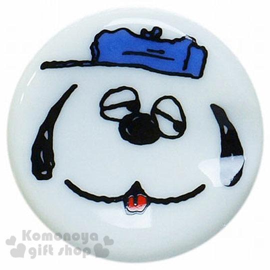 〔小禮堂〕史努比 日製陶瓷造型筷架《迷你.白.大臉..藍帽子.吐舌.奧拉夫》可愛實用.增添用餐樂趣