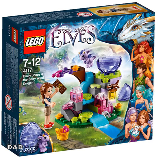 樂高積木LEGO《 LT41171 》Elves 精靈系列 - 艾蜜莉與風之龍寶寶