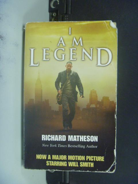 【書寶二手書T4/一般小說_GCC】I Am Legend_Matheson, Richard