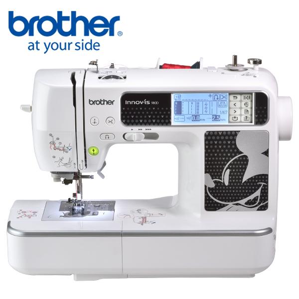日本[brother] 迪士尼電腦刺繡縫紉機NV-980D