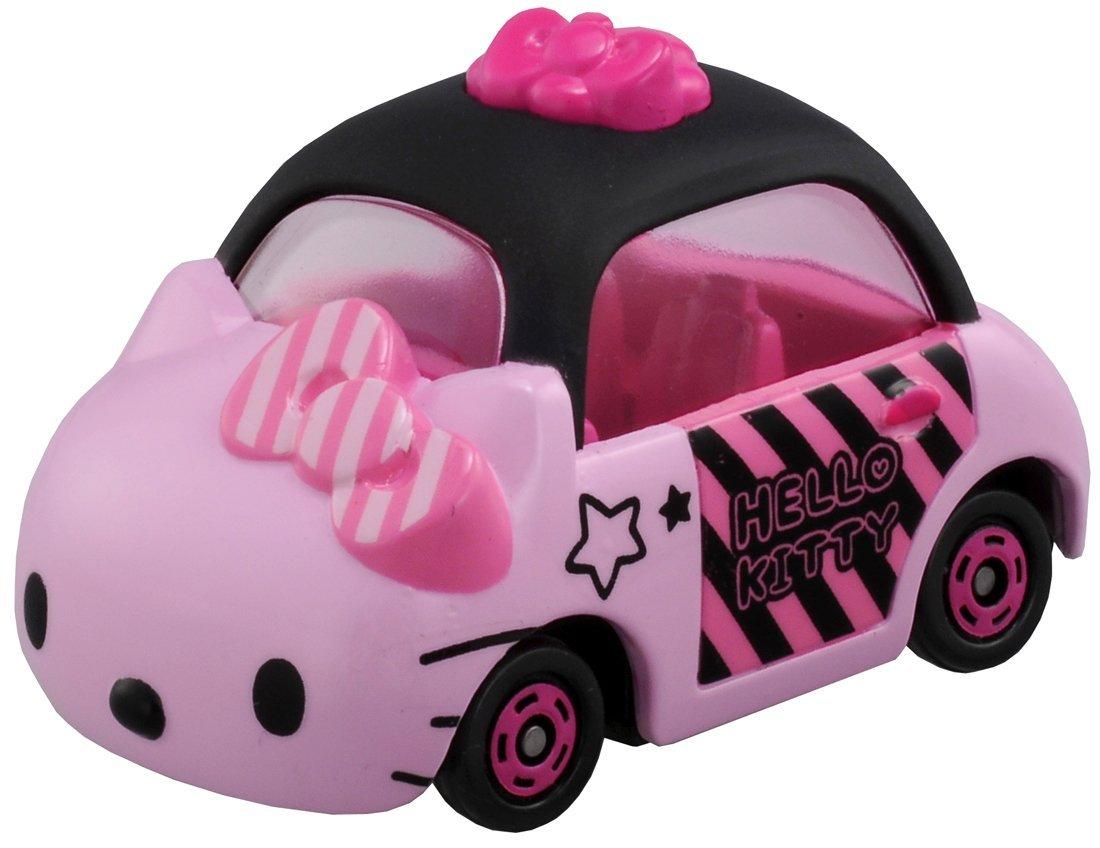 TOMICA 日本原裝 TOMY  迷你小汽車 凱蒂貓 Hello Kitty 粉紅款