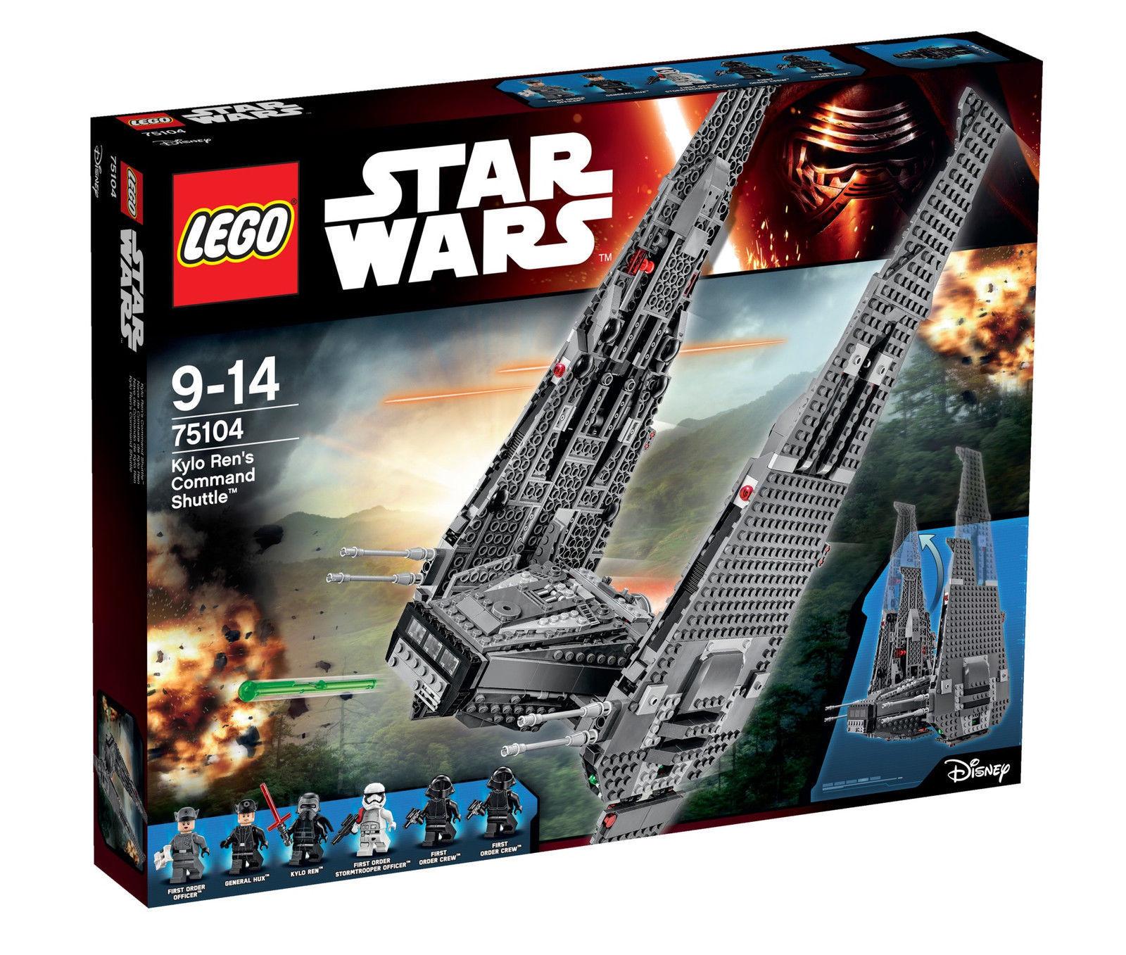 【瞎買天堂x現貨供應】樂高 LEGO 75104 星際大戰 凱羅忍者指揮戰艦【TYLESW03】