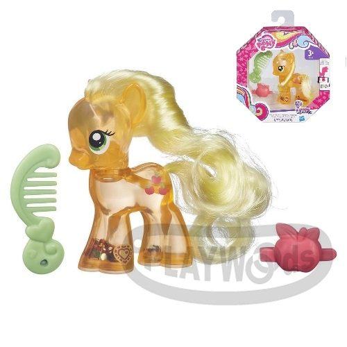 【Playwoods】[彩虹小馬My Little Pony] 第五季 彩虹小馬水亮翅膀遊戲組-蘋果嘉兒Applejack(可搭配APP遊戲/友情就是魔法/可愛標誌魔法/MLP/水晶王國/小馬寶莉/我的小馬駒/Friendship Celebration/孩之寶Hasbro)