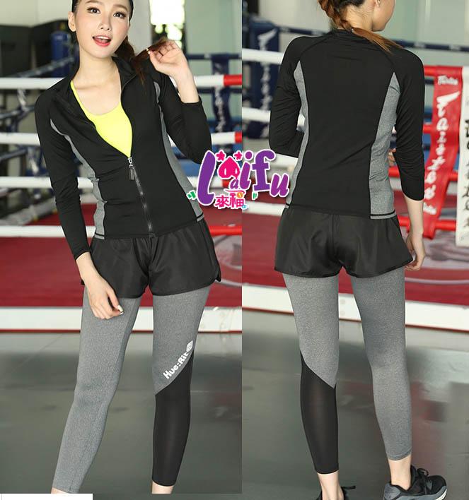 來福,B165運動褲賈思酷運動褲速乾健身韻律褲短褲,只單售短褲售價399元