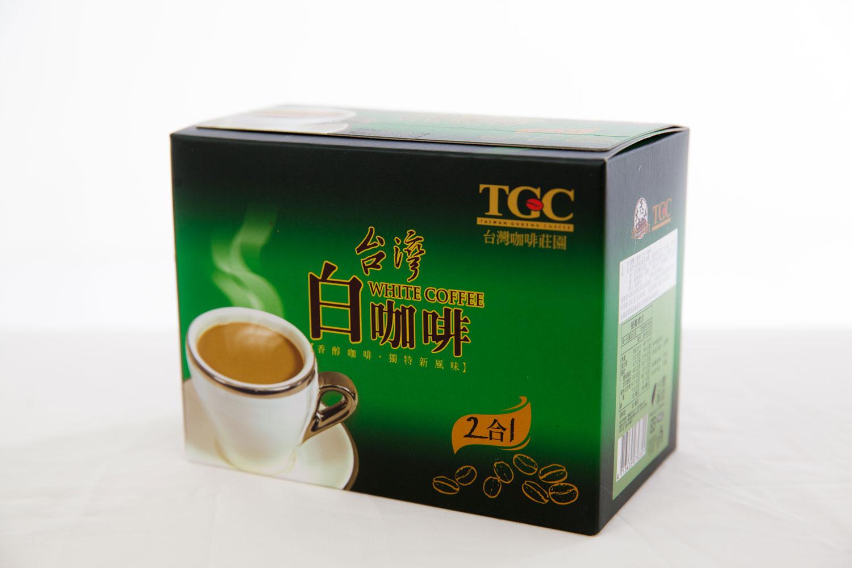 [古坑咖啡~TGC]台灣白咖啡二合一 10包/盒