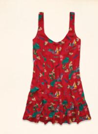 【LA STORES】HOLLISTER(女) 夏威夷度假風洋裝