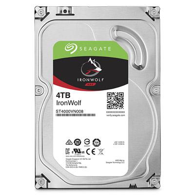 【綠蔭-全店免運】Seagate IronWolf 3.5吋 4TB NAS專用硬碟 (NAS HDD)