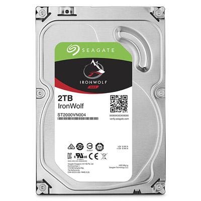 【綠蔭-全店免運】Seagate IronWolf 3.5吋 2TB NAS專用硬碟 (NAS HDD)