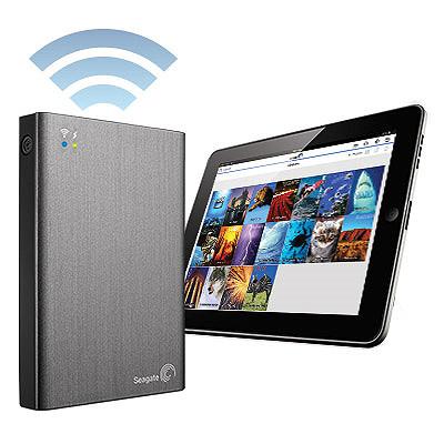 【綠蔭-全店免運】Seagate Wireless Plus 2TB 無線WiFi外接行動硬碟