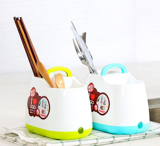 手提韓式小清新筷子籠筷子筒餐具勺子收納盒隨機69元