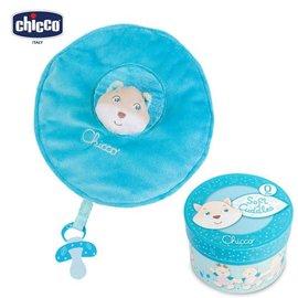 *babygo*Chicco-安撫抱毯舒眠禮盒【粉藍松鼠】