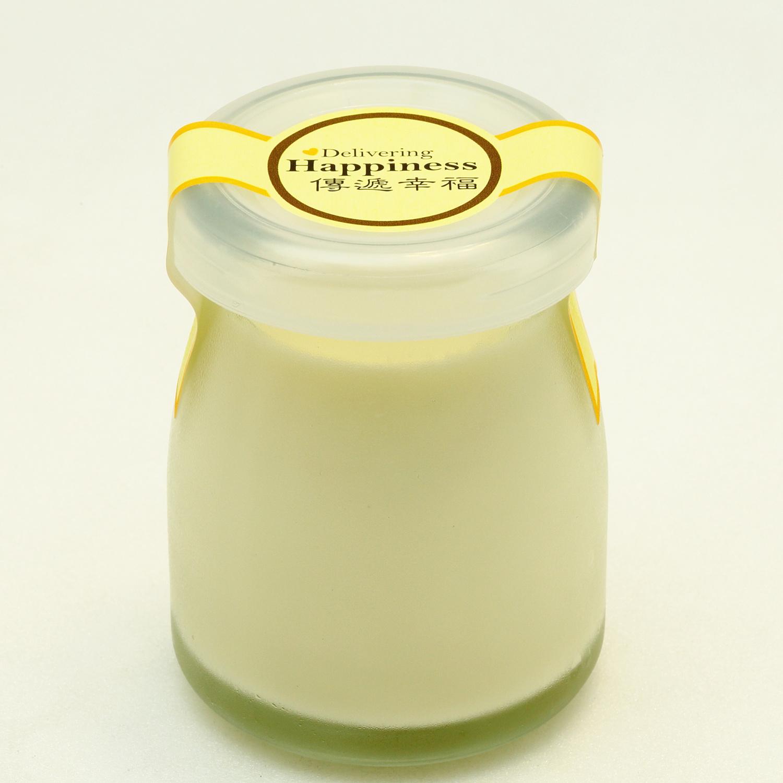 《傳遞幸福》手作鮮奶酪禮盒-香草口味(5入裝)