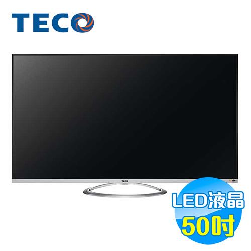 東元 TECO 50吋 FHD多媒體 影音數位 LED顯示器+視訊盒 TL5026TRE