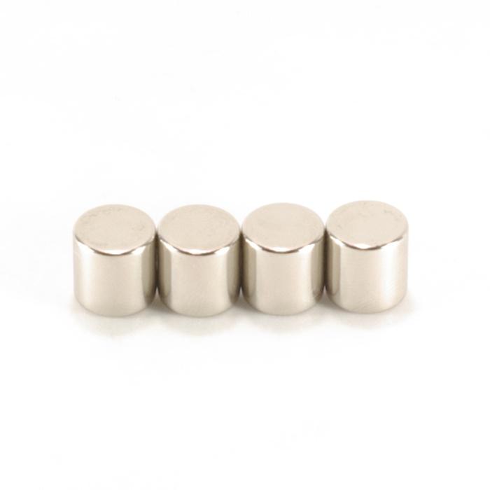 強力磁鐵釹鐵硼 圓直徑1公分*厚 1公分 4個
