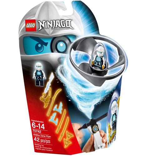 樂高積木LEGO《 LT70742 》2015 年 NINJAGO 旋風忍者系列 - 飛天旋風忍者之旋風鬥-冰忍