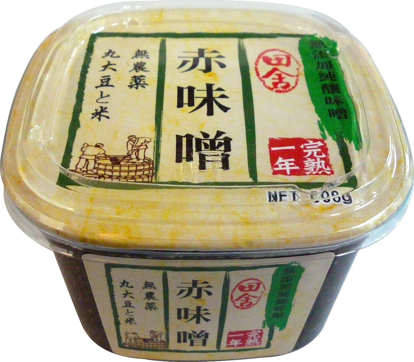 田舍赤味噌
