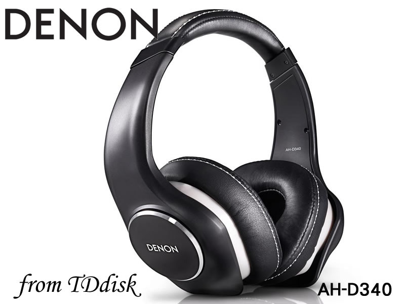 志達電子 AH-D340 DENON AH D340 可換線式 耳罩式耳機[公司貨] For Apple Android 門市開放試聽