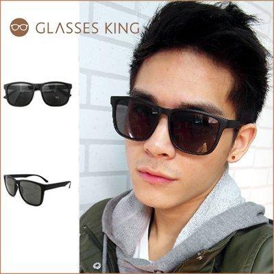 眼鏡王☆韓國基本款流行方框方形大框正妹小臉必備太陽眼鏡墨鏡紅色豹紋黑色S-103