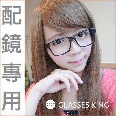 眼鏡王☆光學框木頭腳雕刻復古鏡框韓國文青大框方框近視配鏡黑色透明咖啡透明免運E-27