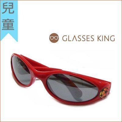 眼鏡王☆現貨!小孩兒童眼鏡太陽眼鏡墨鏡足球帥氣運動紅色黑色K6