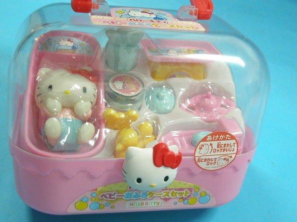 Hello Kitty凱蒂貓KT寶貝嬰兒箱(手提盒)/一個入{促299}