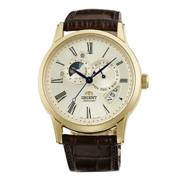 Orient 東方錶(SET0T005Y)SUN&MOON系列 65週年紀念限量月相錶/白面42.5mm  男生聖誕交換禮物