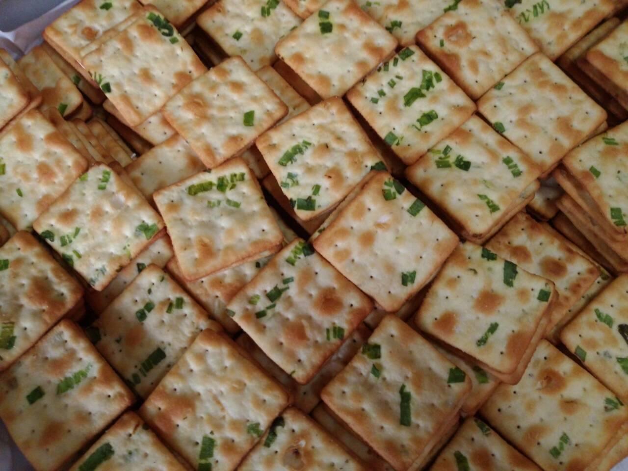 香蔥牛軋餅 15片/每包(非素食)  【花菓子工房】